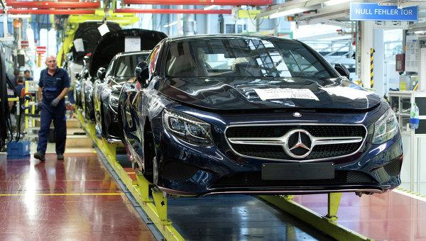 Завод Mercedes-Benz в Германии. Архивное фото