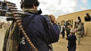 Афганская полиция. Архивное фото.