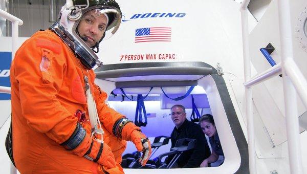 Космический аппарат CST-100 компании Boeing