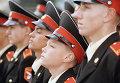 Юноши, поступившие на 1 курс Московского суворовского военного училища