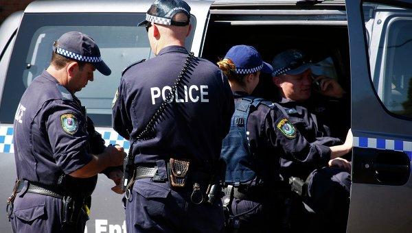 Полиция Австралии, архивное фото