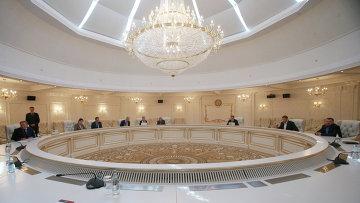 Встреча контактной группы в Минске. Архивное фото