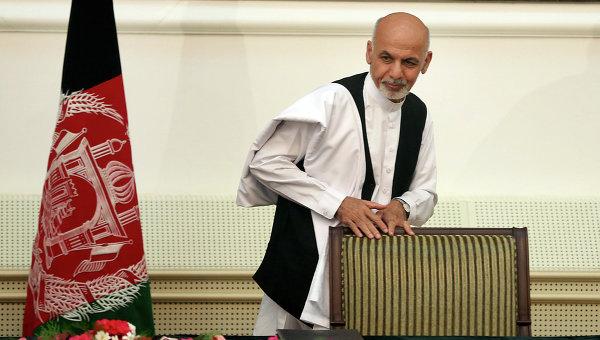 Новый президент Афганистана Ашраф Гани Ахмадзай