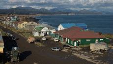 Остров Кунашир. Архивное фото