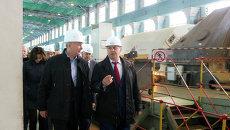 Сергей Собянин посетил ТЭЦ-12 ОАО Мосэнерго