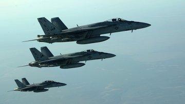 Самолеты ВВС США.