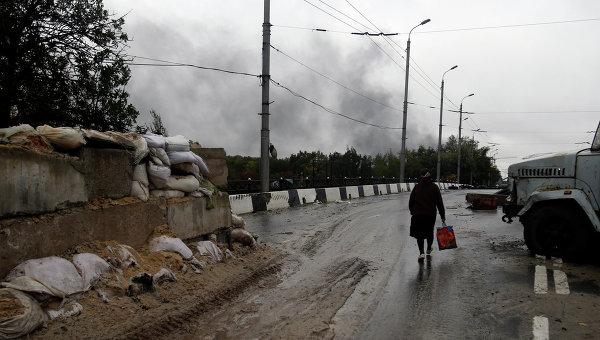 Ситуация в Донецке. 25 сентября 2014