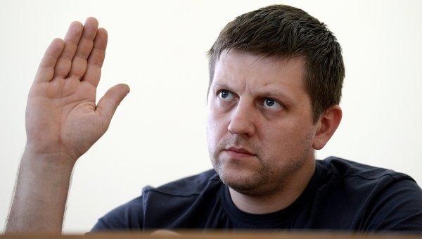 Председатель республиканского парламента Луганской народной республики Алексей Карякин. Архивное фото