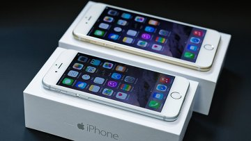 Новый смартфон iPhone 6 и iPhone 6 Plus