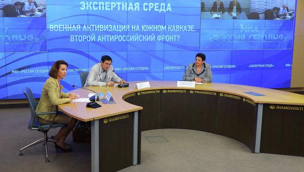 Заседание клуба Экспертная среда Центра международной журналистики и исследований