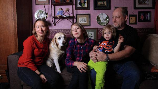Семья Лизы