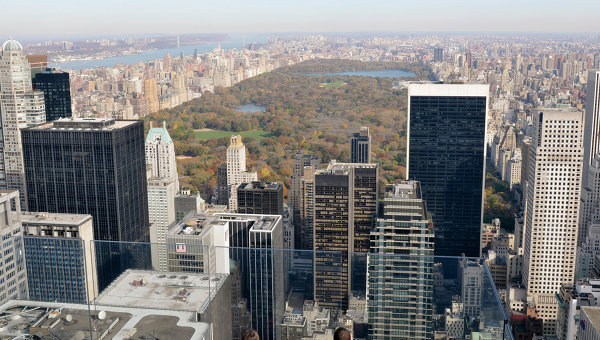 Вид Нью-Йорка. Архивное фото