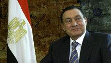 Президент Египта Хосни Мубарак. Архивное фото