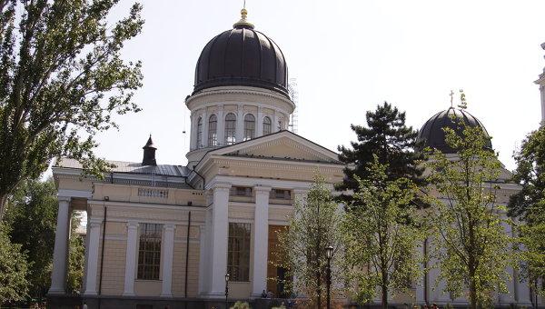 Соборная площадь в Одессе. Архивное фото