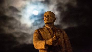 Памятник В.И. Ленину, архивное фото