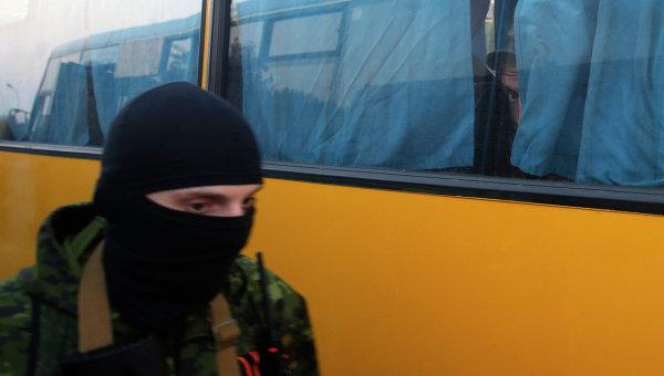 Обмен пленными возле города Донецк. Архивное фото