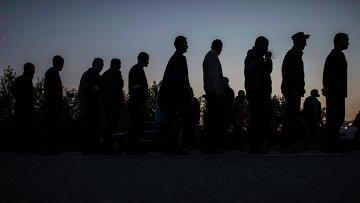 Украинские пленные военные, архивное фото