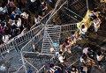 Баррикады в Гонконге во время акции протеста
