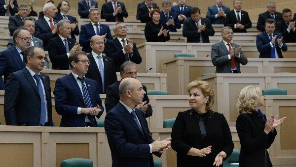 Заседание Совета Федерации РФ. Архивное фото