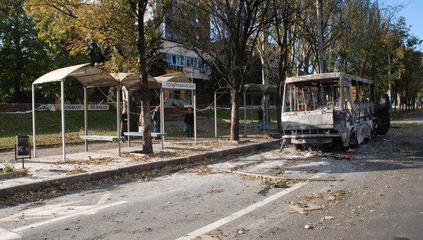 Артиллерийский обстрел Донецка, Архивное фото
