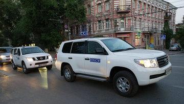 Сотрудники миссии ОБСЕ, архивное фото
