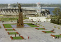 Памятник В.И. Ленину в Запорожье. Архивное фото