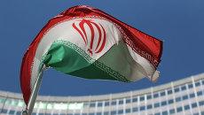 Иранский флаг. Архивное фото