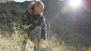 Президент РФ Владимир Путин. Из архива пресс-службы президента РФ