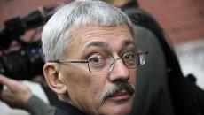 Глава правозащитного центра Мемориал Олег Орлов. Архив