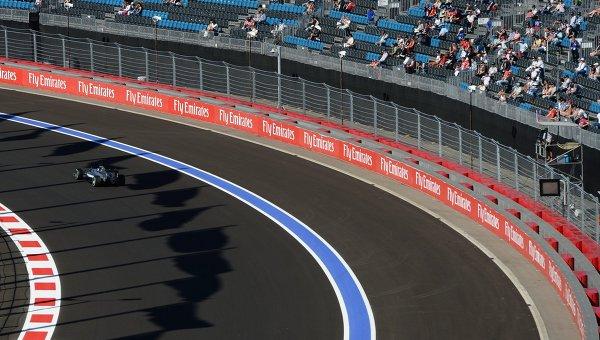 Автоспорт. Формула -1. Гран-при России. Свободные заезды. Третья сессия. Архивное фото