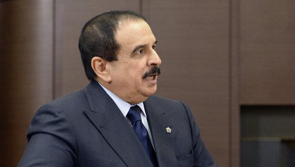 Король Бахрейна Хамад Бен Иса Аль Халиф. Архивное фото