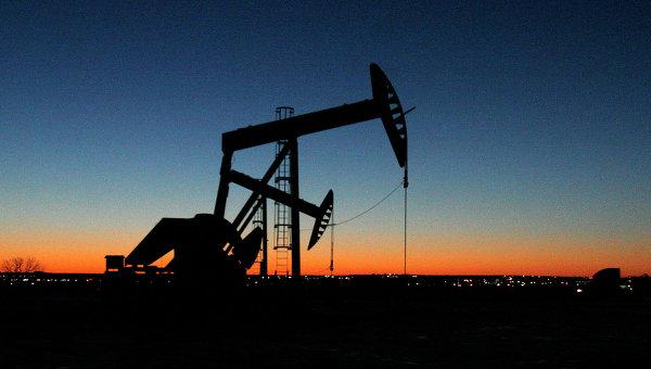 Место добычи нефти в США