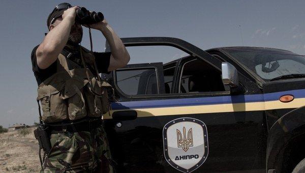 Боец батальона Днепр. Архивное фото