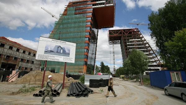 Строительство технопарка новосибирского Академгородка