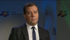 Медведев прокомментировал заявление Обамы о России как о мировой угрозе