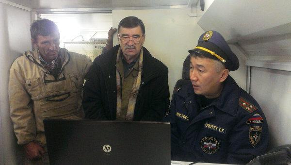 Поисково-спасательная операция в Туве