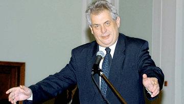 Милош Земан, архивное фото