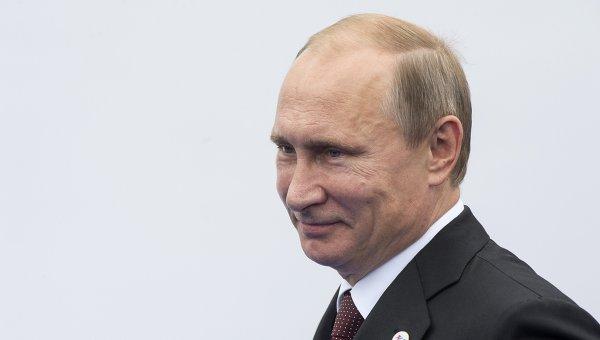 Президент РФ Владимир Путин перед началом заседания саммита форума Азия-Европа