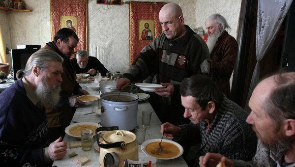 Скит Свято-Никольского мужского монастыря в Омской области