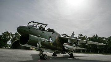 Американские штурмовики А-7 Корсар ВВС Греции