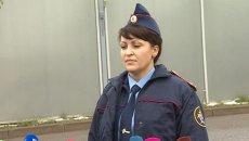 Кадры из аэропорта Внуково, где потерпел крушение легкомоторный самолет