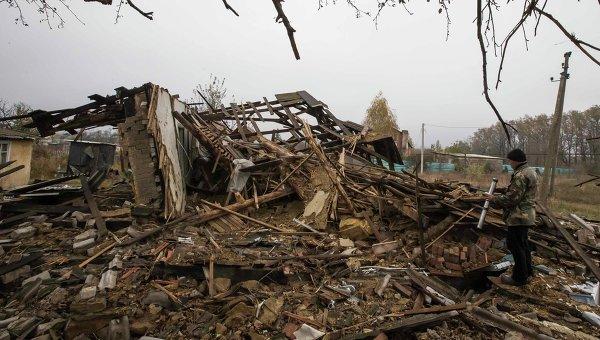 Последствия обстрелов Донецка, 21 сентября 2014