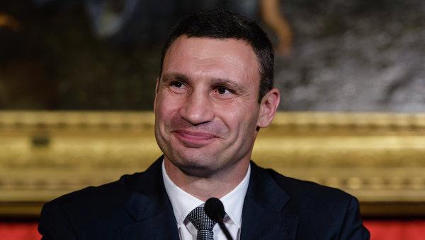Мэр Киева Виталий Кличко. Архивное фото