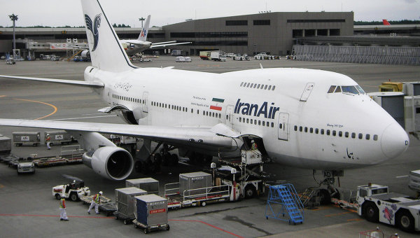 Самолет авиакомпании Iran Air. Архивное фото