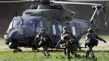 Солдаты бундесвера. Архивное фото