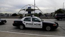 Полицейская патрульная машина. США. Архивное фото