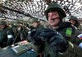Морские пехотинцы во время учений Тихоокеанского флота