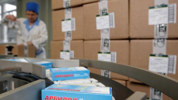 Упаковка лекарственных препаратов
