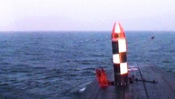Испытания межконтинентальной баллистической ракеты Булава