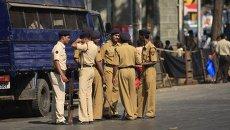 Полиция в Индии. Архивное фото